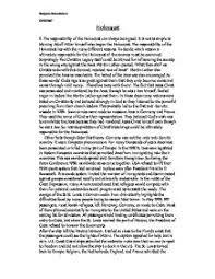 holocaust essay holocaust research paper outline emily the holocaust essay