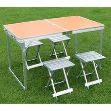 aluminum picnic tables. Folding Aluminum Picnic Table With Chairs China Tables A