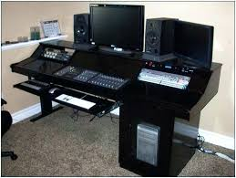 recording studio desk studio desk plans home recording studio desk image of home recording studio desk