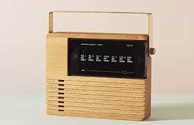 radio dock turns your iphone into an old school radio