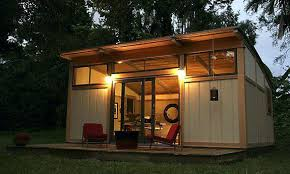 Small Pool House Prefab Be Equipped Outdoor Room Studio Cabin Live