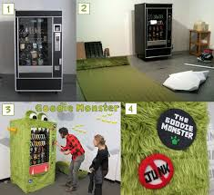 Monster Vending Machines Custom Goodie Monster DIY Vending Machine