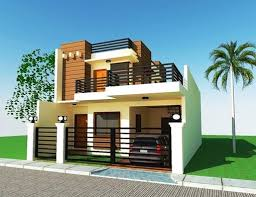 24 Genius 2 Storey Houses  House Plans  25124Two Storey Modern House Designs