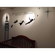 peter pan wall decals never land e decal vinyl