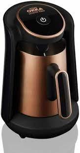 The most common turkish coffee machine material is porcelain. Buy Arzum Okka Minio Pro Turkish Coffee Machine Copper Online In Qatar 133390296898