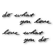 Купить <b>Надпись декоративная Do what</b> you love настенная ...