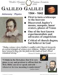 best history science galileo images paradigm  galileo galilei essay world s greatest creation scientists from to