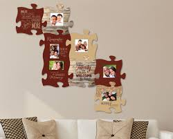 puzzle wall art piece your family and friends together with this there s room for everyone  on puzzle into wall art with woody puzzle wall art funky pictures painting ideas arigatonen info