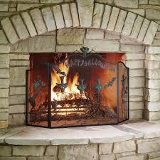 texas star fireplace screen