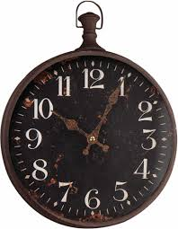 pocket watch wall clock large by manual woodworkers weavers novelty wall clocks