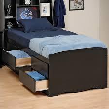 Tall Twin Platform Storage Bed - BBT-4106-K