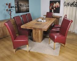 Red Dining Room Chairs Cheap Nice Wooden Chairs With A Table That Can Be Decor With