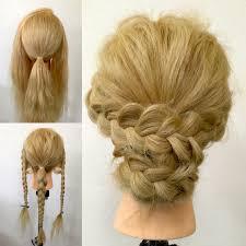 最短時間は1分簡単編み込み風ヘアアレンジ Hair
