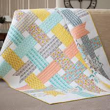 Make It Sew | Ribbon Box Quilt - Cloud9 Fabrics & Make It Sew | Ribbon Box Quilt Adamdwight.com
