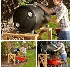 diy rotating compost barrel 45 diy compost bins to make for your homestead