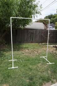 diy arch for wedding using pvc pipes weddings parties pvc pipe pipes and arch