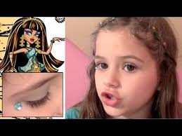 monster high makeup y cute beauty set tutorial for kids
