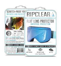 Amazon Com Ripclear Bolle Amp Snow Goggle Lens Protector