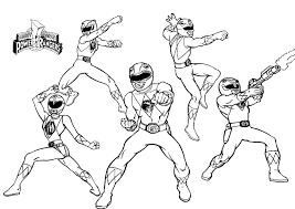 Power Rangers Coloring Pages Dino Charge Gold Ranger Samurai Online