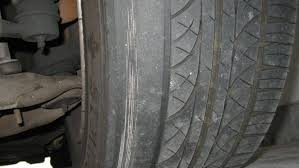 Tire Wear Patterns Cool Irregular Tire Wear Causes Indicators And Remedies AUTOINTHEBOX