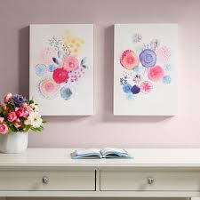 sweet candy garden gel coated canvas 2 piece set on intelligent design 2 piece sweet florals canvas wall art set with affordable canvas wall art designer living