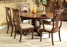 round wooden dining table for 6 image of design teak pedestal dining table dark wood dining table 6 chairs