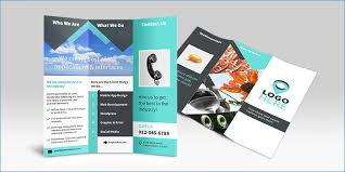 Brochure Samples Bi Fold Brochure - Eco Enviame Template