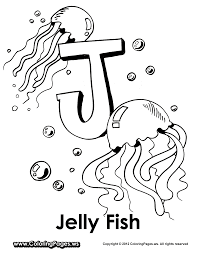 Small Picture J is for Jellyfish Letter J Jobs Community Helpers Pinterest