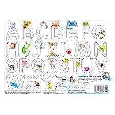 Cùng con chơi và học - Bảng chữ cái tiếng Anh - Công ty cổ phần sách MCBooks