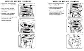 2000 lexus gs300 installation parts 2000 Lexus Gs300 Stereo Wiring Diagram 2000 Lexus GS 300 On 22