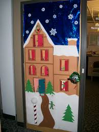 christmas office door decorating. Fun Steps Office Door Christmas Decorating Ideas Averycheerva Com Contest For A