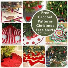 Christmas Tree Skirt Pattern Unique Free Patterns Christmas Tree Skirts Crochet
