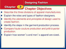 Fashion Design Roles Chapter 7 Fashion Designing Fashion The Design Process