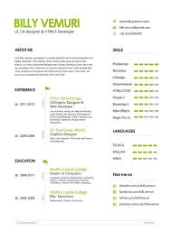 Ux Resume Sample