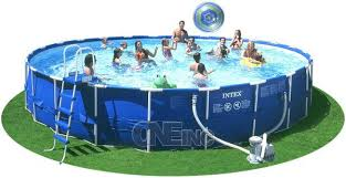 intex above ground swimming pool. If You Want An Above Ground Pool That Provides Excellent Quality And Superior Service At Affordable Price, We Have The Perfect Backyard Swimming For Intex