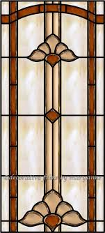 cathedral window panel decorative window