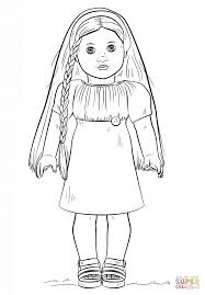 Small Picture Online American Girl Doll Coloring Page 52 In For Kids with
