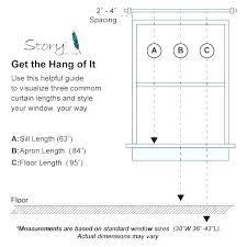 Window Curtain Sizes Helmbank Com Co