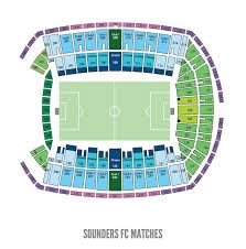 Centurylink Field Virtual Seating Chart Sounders Field