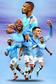Manchester City Poster | Manchester city, Gambar sepak bola, Sepak bola