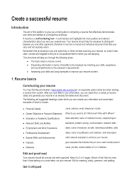 Successful Resumes Examples Business Itinerary Templates Itinerary