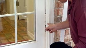 garage door stop moldingHow to Prevent Pet Damage to Door Weather Stripping  Todays