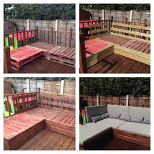 outdoor furniture made with pallets. Patio Furniture Made From Pallets And Decking Boards Outdoor With