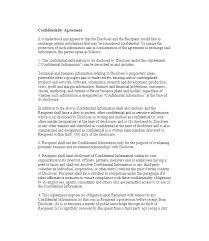 Free Non Disclosure Agreement Pdf – Livingaudio