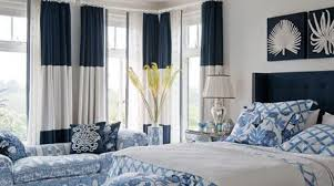 Blue And White Bedroom | portsidecle
