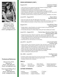 Interior Design Student Resume Professional Resume Templates