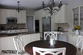 kitchen cabinets painted white before and afterFrom HATE to GREAT A tale of painting oak cabinets