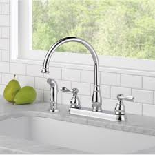 Delta Classic Kitchen Faucet Delta Windemere Double Handle Standard Kitchen Faucet Reviews