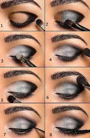 khubsurat beauty tips steps of smokey eye make up