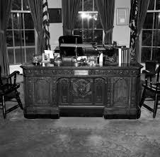 white house oval office desk. President John F. Kennedy\u0027s HMS Resolute Desk In The Oval Office White House K